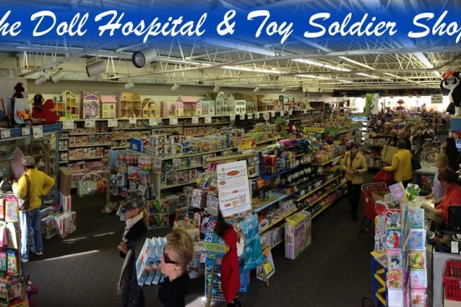 Doll Hospital and Toy Soldier Shop