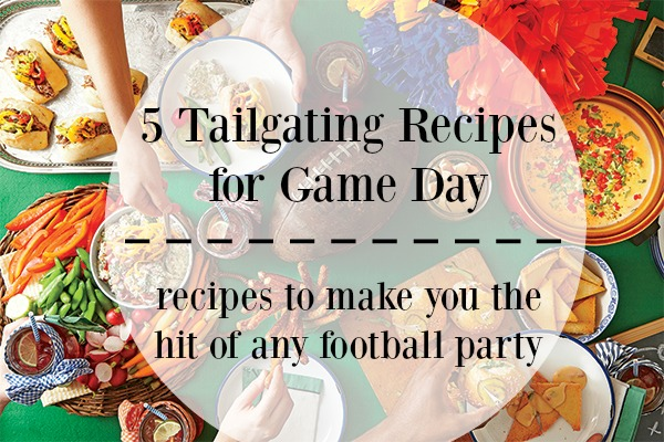 Urbane Tailgating Recipes for Game Day